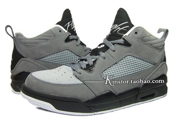 929d7a228063 Air Jordan Flight 9 - Grey - Black - White - SneakerNews.com
