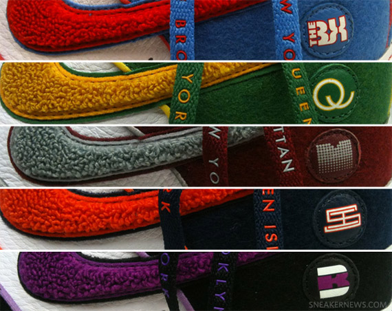 more photos fc144 71637 Nike Air Force 1 Low Supreme - '5 Boroughs' Pack | House of ...
