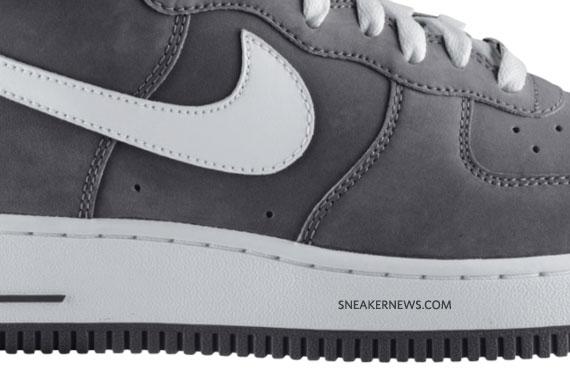 Nike Air Force 1 High Light Charcoal White