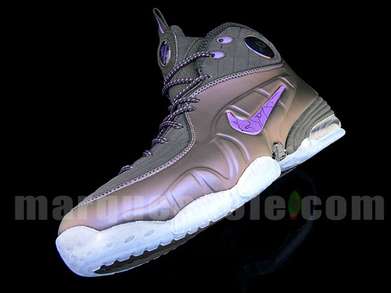 meet e57f8 3278e ... new Nike Air 12 Cent Eggplant Detailed Images .