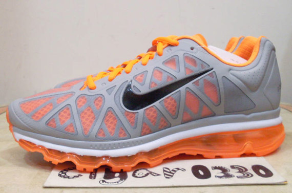 Nike Air Max+ 2011 - Wolf Grey - Black - Total Orange ...