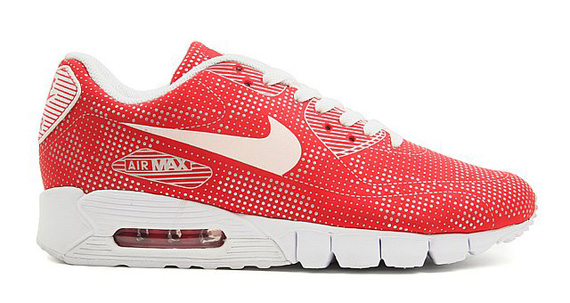 Nike Air Max 90 Current Moire Omega Pack Black + Red
