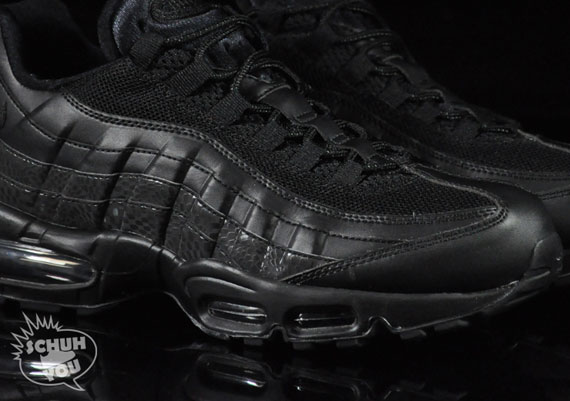 buy popular 1dd48 71e59 Nike Air Max 95 – Black – Black – Croc