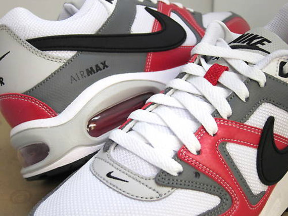 buy popular 8eb11 e4c3e Nike Air Max Command – White – Black – Varsity Red – Dark Grey