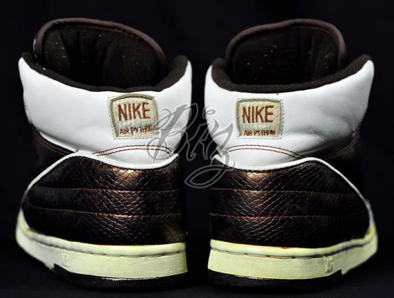 12739a05c91683 Advertisement. The Nike Air Python was originally released in 1987  following the introduction of the Air Jordan II ...