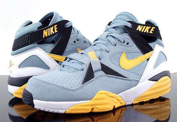 462316e1fa5e Nike Air Trainer Max  91 - Grey Stone - Medium Yellow