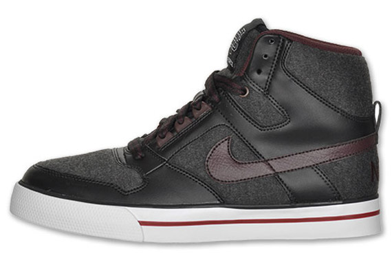 inyectar Hacer un nombre Perenne  outlet Nike Delta Force High AC Black Grey Maroon White ...