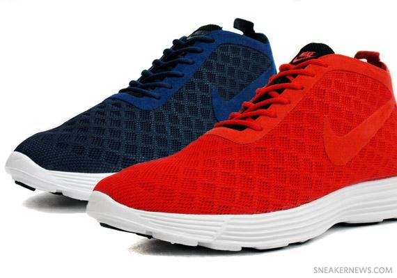 894327c64 Nike Lunar Rejuven8 Mid - Challenge Red + Obsidian - SneakerNews.com