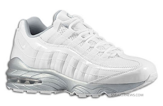 womens air max 95 all white