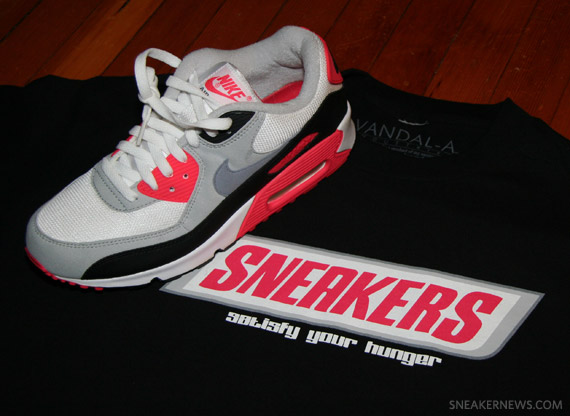 6970c6a509800b Vandal-A  Sneakers  T-Shirt - Infrared Edition - SneakerNews.com
