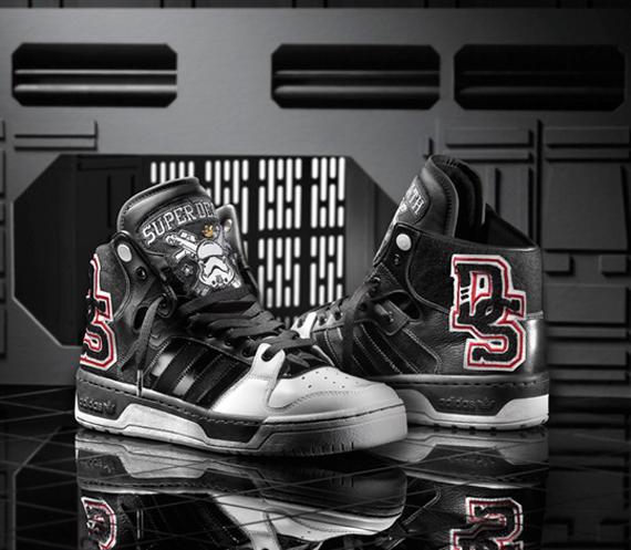 promo code 3dd95 d2989 Star Wars x adidas Originals Conductor Hi Super Death Star -