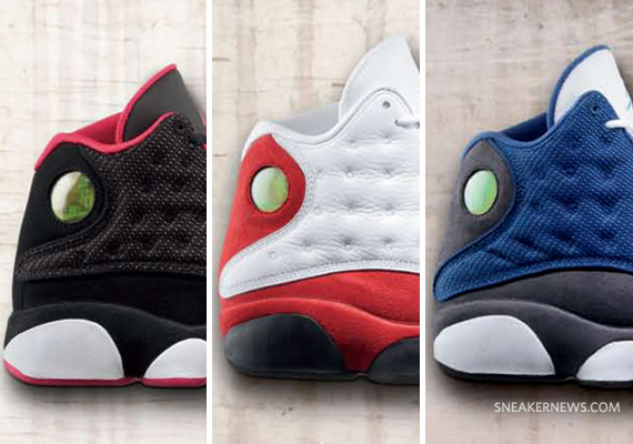 on sale 7d1fd 9b116 Air Jordan XIII (13) Retro - Holiday 2010 Collection - SneakerNews.com