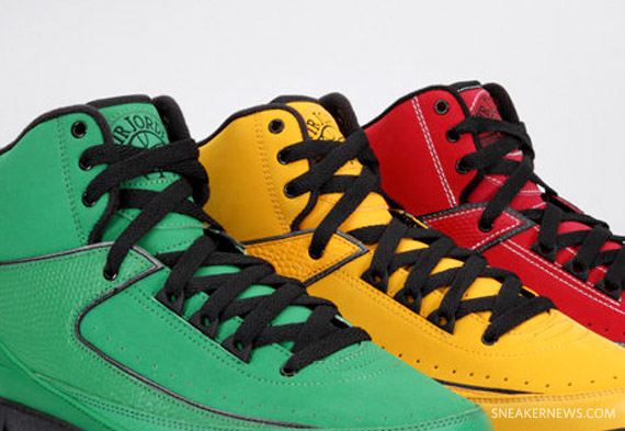 the latest 9d729 76e11 Air Jordan II (2) Retro –  Candy  Pack   October 2010