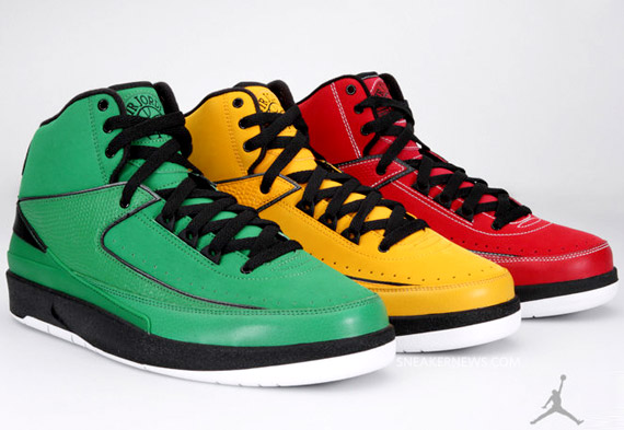Air Jordan 2 - 2010 08 04 Air Jordan Ii 2 Rétro Cety Pack October 2010 Usine