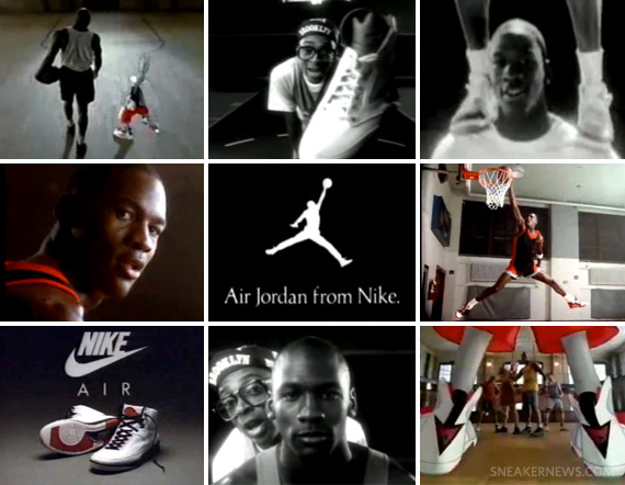 new air jordan commercials