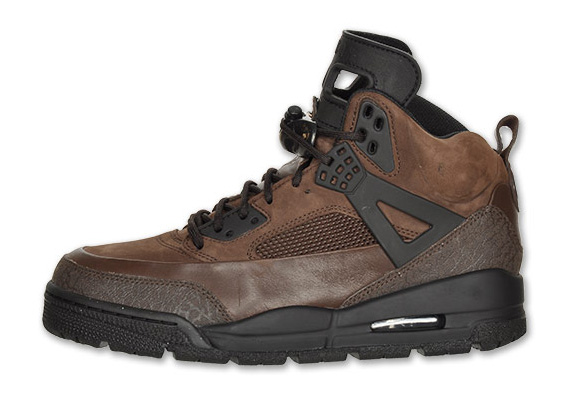 df4ab1c63df9 Air Jordan Spiz ike Winterized Boot - Black + Dark Cinder ...