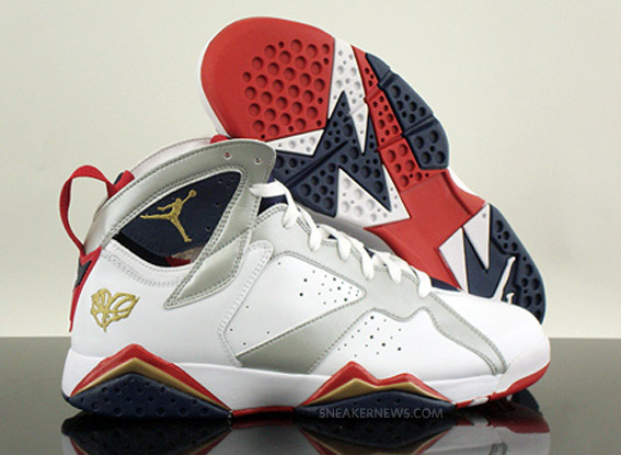 Air Jordan VII Retro - Olympic -  For the Love of the Game ... 402b933452