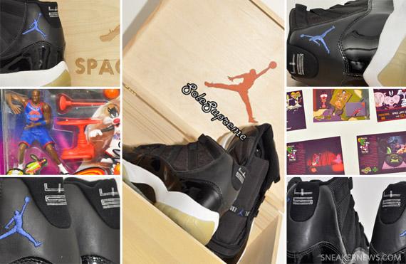 Air Jordan 11 Space Jam 2000 Vhs