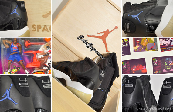 quality design 5af2f 46f66 Air Jordan XI (11) Space Jam  45 Sample + Memorabilia Bundle