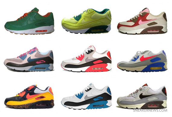 3682b9e868 The 50 Greatest Air Max 90s of All Time by Complex.com - SneakerNews.com