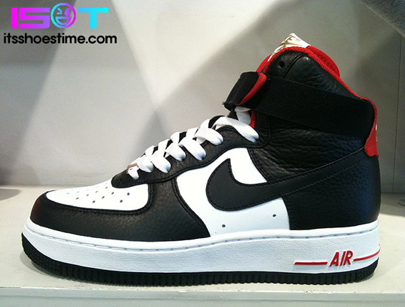 nike air force 1 high white\/sport red