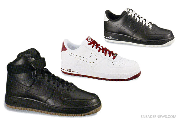 Nike Air Force 1 Holiday 2010 Preview