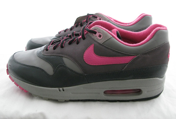 promo code 45ea1 f78f8 Huf x Nike Air Max 1 - Grey - Pink   Unreleased Sample - SneakerNews.com
