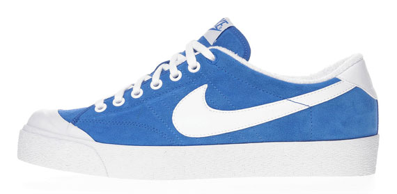 Nike All Court Low Royal Blue Suede Sneakernews Com
