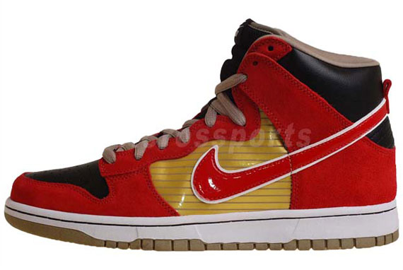 free shipping 98157 f3a86 Nike SB Dunk High QS -  Tecate    Available on eBay - SneakerNews.com