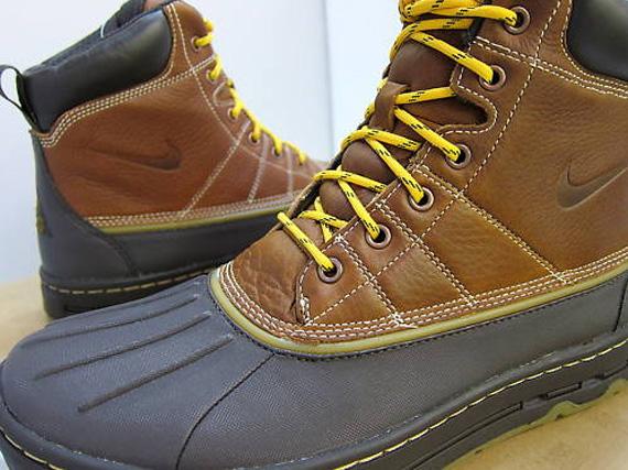 the latest c00eb ac628 Nike ACG Woodside Boot – British Tan – Tar Brown