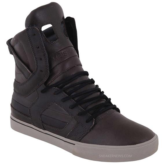 Supra Skytop II - Brown Leather