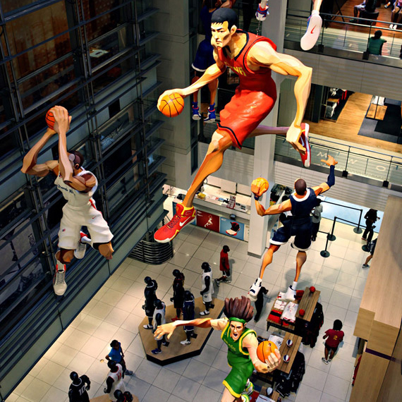 Sports Shoes Nba Store New York