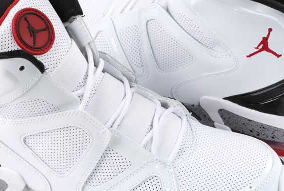 7d0ff4003ab0 Air Jordan Ol  School IV - White - Varsity Red - Black - SneakerNews.com