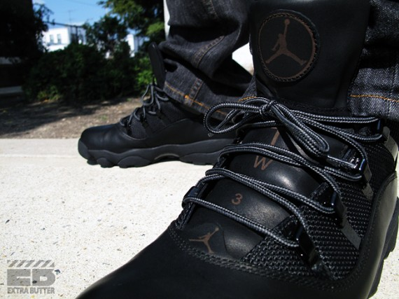 b305a07425204e Air Jordan Six Rings Winterized Boot - Dark Cinder + Black ...