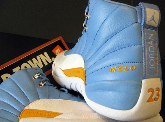 8d1c551de4bb Air Jordan XII (12) Retro - Carmelo Anthony PE - SneakerNews.com
