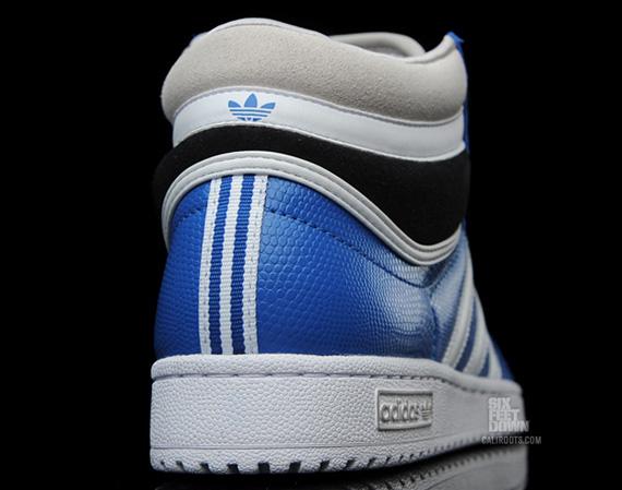 outlet store b1e31 0f6ac adidas Originals Top Ten Hi NBA - Blue - White - Black - SneakerNews.com