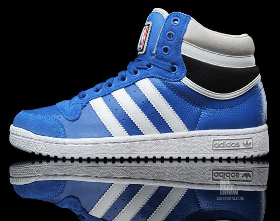 adidas Originals Top Ten Hi NBA - Blue