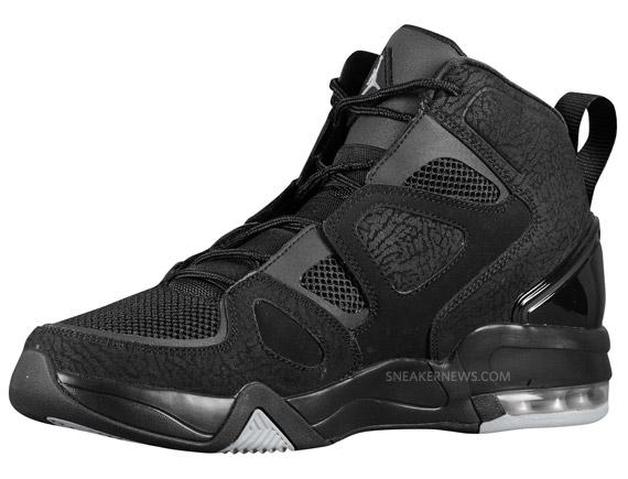 on sale f3f45 f0b55 Air Jordan Ol Skool IV - Black - Metallic Silver - SneakerNews.com