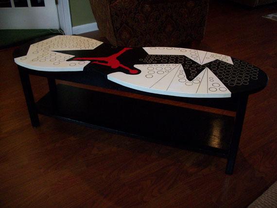 Nike Shoe Box Coffee Table .