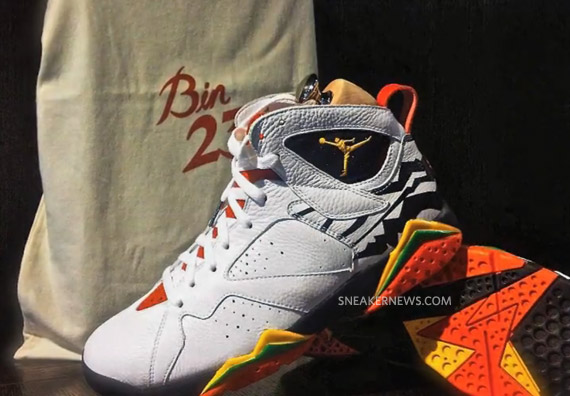 huge inventory b3644 46591 Air Jordan VII (7) Premio – Bin 23 Collection   Preview Video