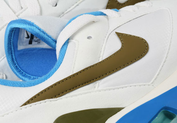 on sale 72251 2ac97 Nike Air 180 - White - Moss Green - Photo Blue - SneakerNews.com