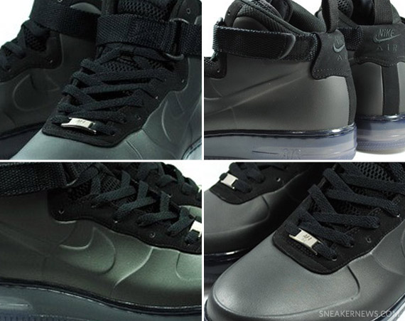 Nike Air Force 1 Foamposite Black   Available Early on eBay