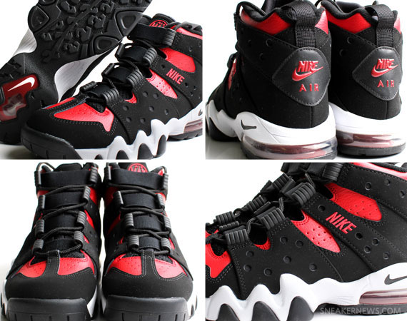 best website 17fff e9150 Nike Air Max2 CB  94 - Black - Varsity Red - White   New Images ...