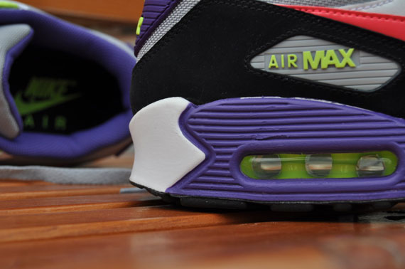Nike Air Max 90 Purple And Green