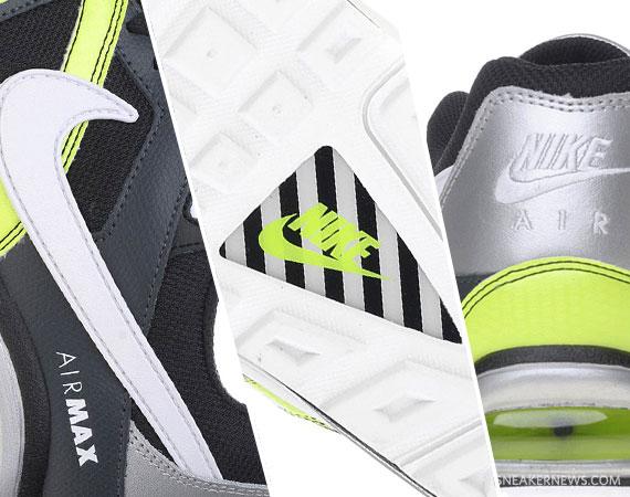 Desaparecido Caligrafía bancarrota  outlet Nike Air Max Command Black Silver Neon - caledonianholdings.com