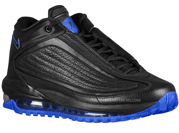 timeless design afd8e fab24 ... Nike Air Griffey Max GD II - Black - Varsity Royal - Sneaker ...