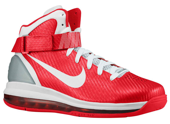 cheap nike air max hyperdunk 2010 red