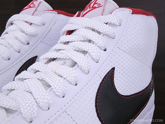 Chaquetas Nike Blancas Y Rojas De Alto Negro bPd4dp