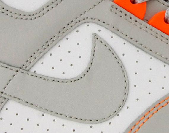 Nike Delta Force High White Grey Orange October 2010