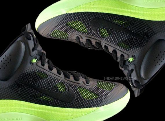 hot sale online c77d2 bc4fa Nike Hyperfuse – Black – Volt  October 2010